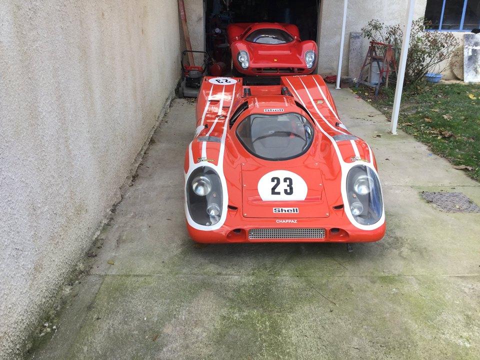 Porsche 917 / Voiturettes CG